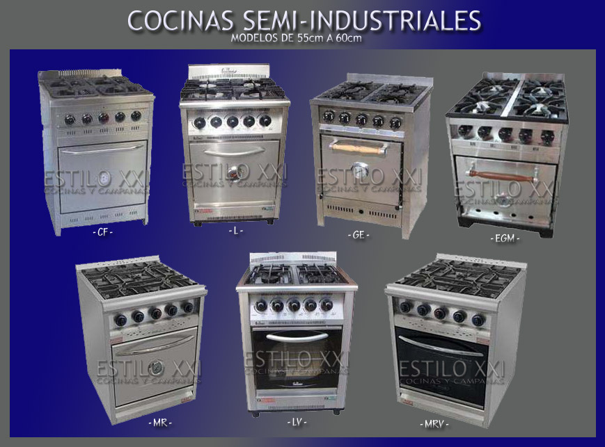 Cocina fornax Taverna hornallas 9- familiar industrial -