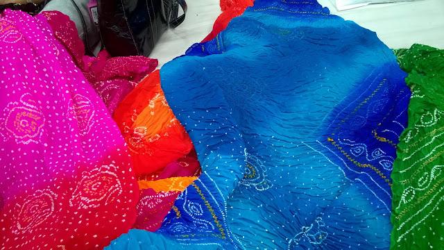 Bandhani, handicrafts, Rajkot