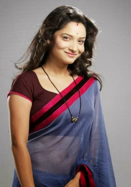 Archana from Pavitra Rishta in Saree