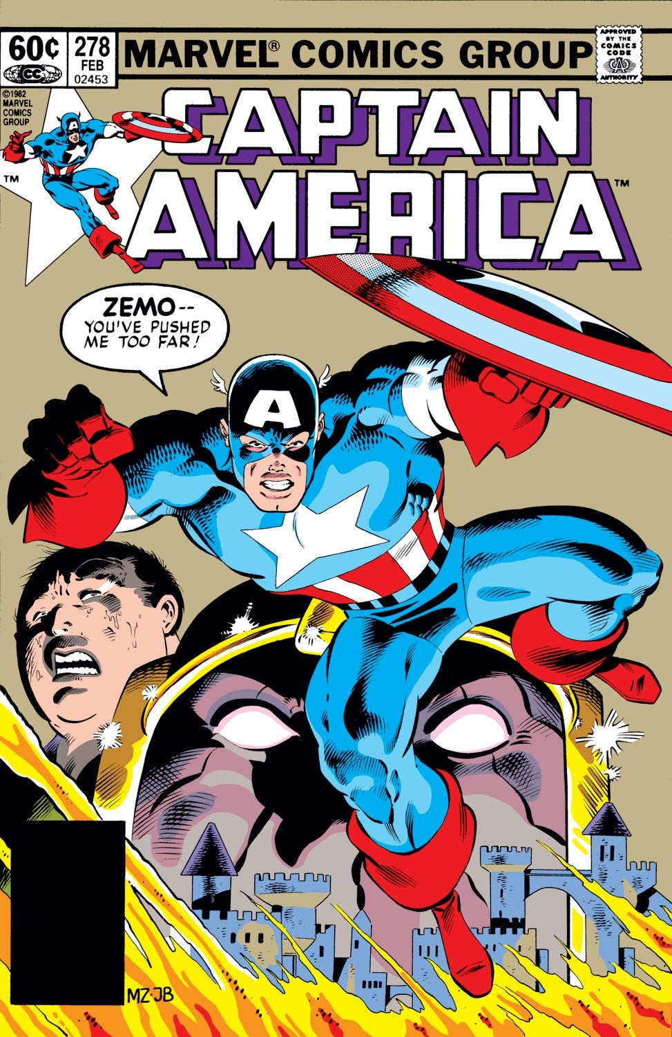 Captain America (1968) Issue #278 #194 - English 1