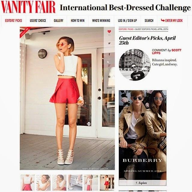 http://ibdl.vanityfair.com/users-choice, vanity Fair editors pick, Best dressed, best dressed blogger, blogger, Fashion Blogger,