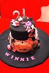 Winnie's 21st Shopaholic Butterfly Cake
