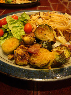 Recipe: Roast brussels sprouts