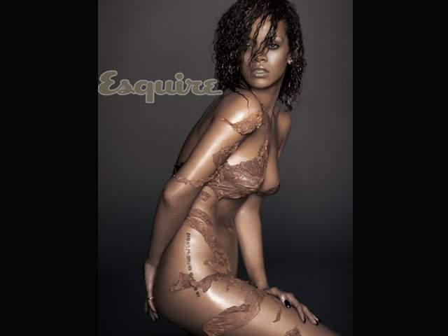 Rihanna Posa Desnuda Para La Revista Squire
