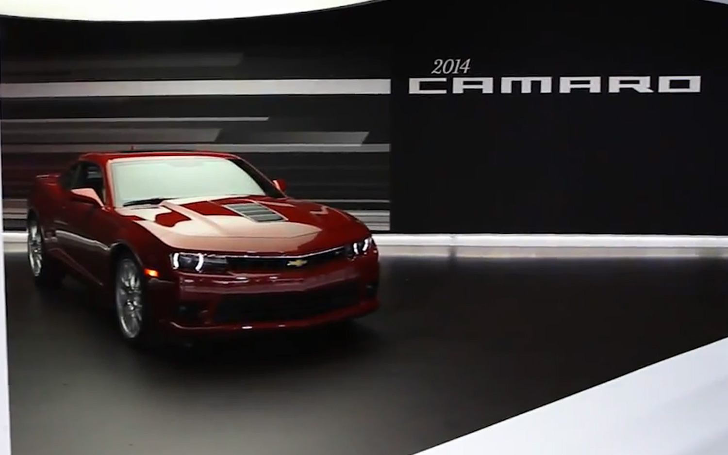 2014 Camaro SS Styling Highlighted in New Video
