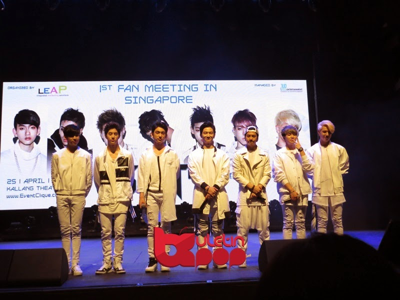 GOT7, Singapura, fan meeting, 2015