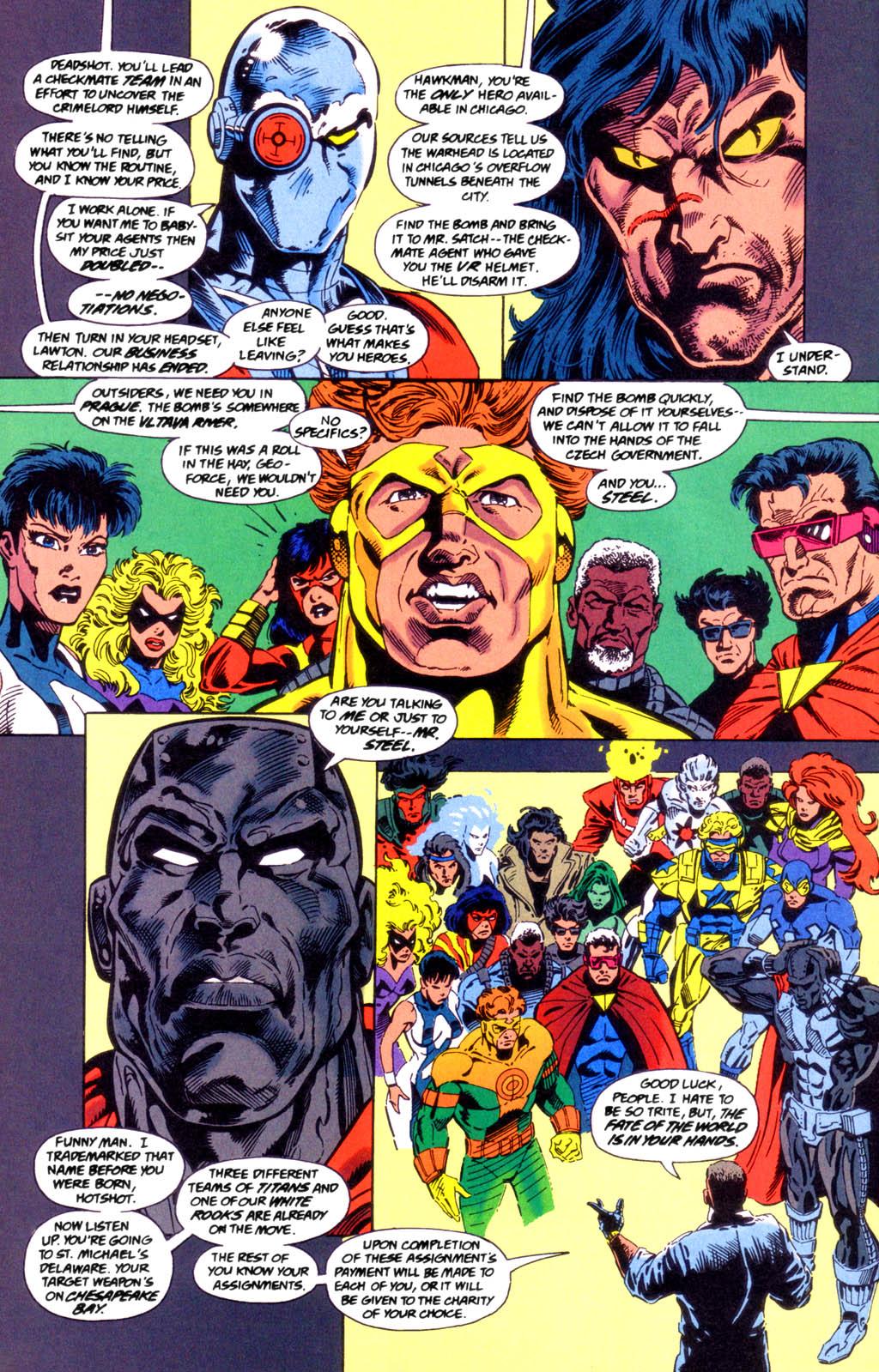 Deathstroke (1991) Issue #49 #54 - English 12
