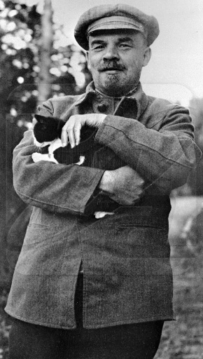 vladimir lenin kitty