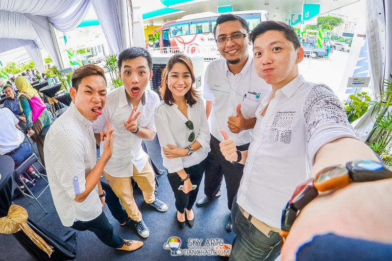 #TCSelfie with Adrian, CK, Dyna, Khairul