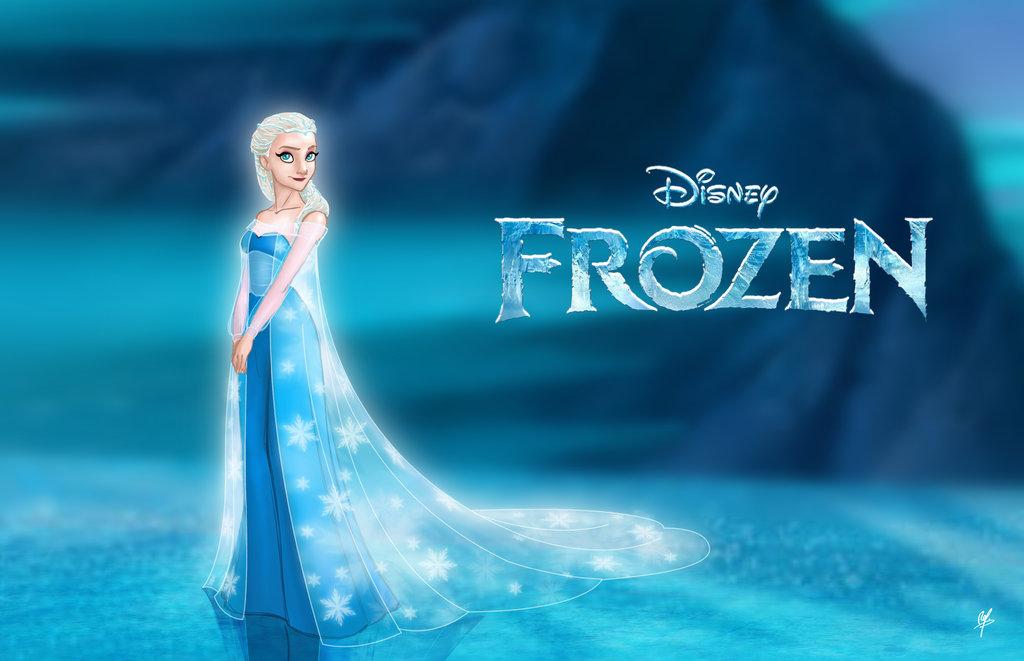 """Frozen """". Dibujo realizado por RodrigoYborra . Pulsad en la imagen"""