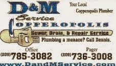 D and M Sewer, Drain and Repair Service