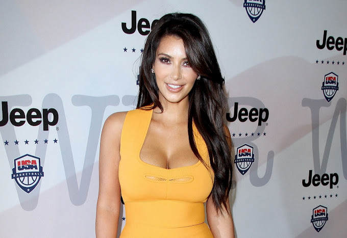 Kim Kardashian looks hot at the Jeep and USA Basketball Present 'Power Foward.' partnership event