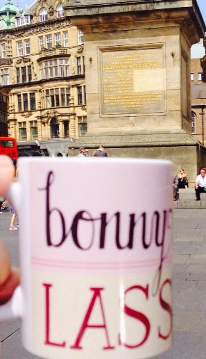 Bonny Lass Geordie Mug by Wotmalike