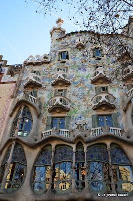 Barcelone  -maison Gaudi