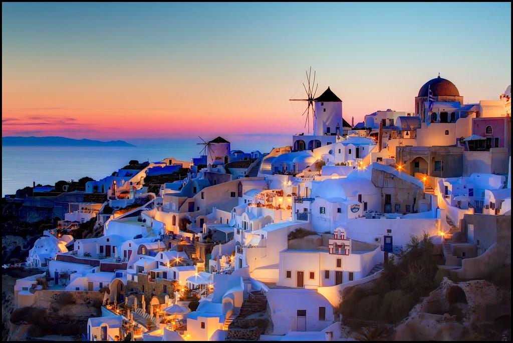 Santorini – Grecia