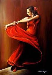 La Bailarina española.