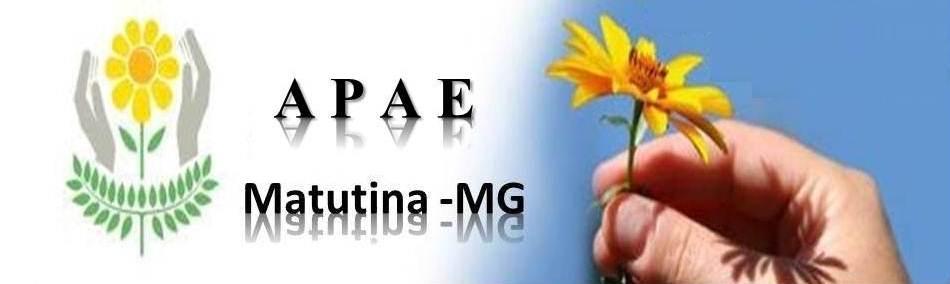 APAE DE MATUTINA MG