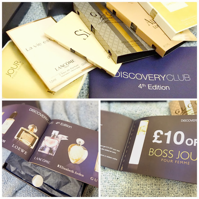 Gift Idea! Fragrance Discovery Club Subscription Beauty Box from The Fragrance Shop.