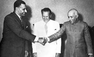 Osnivači pokreta nesvrstanih Josip Broz Tito,Gamal Abdel Naser i Džavaharlal Nehru