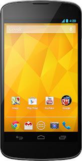 LG E960 - Google Nexus 4 E960 4G Mobile Phone - Black (T-Mobile)