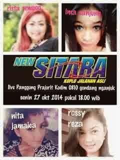 Album New Sitara Live Panggung Prajurit Kodim 0810 Nganjuk 2014