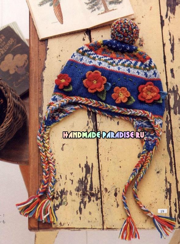 Вязание крючком и спицами аксессуаров и предметов для украшения интерьера