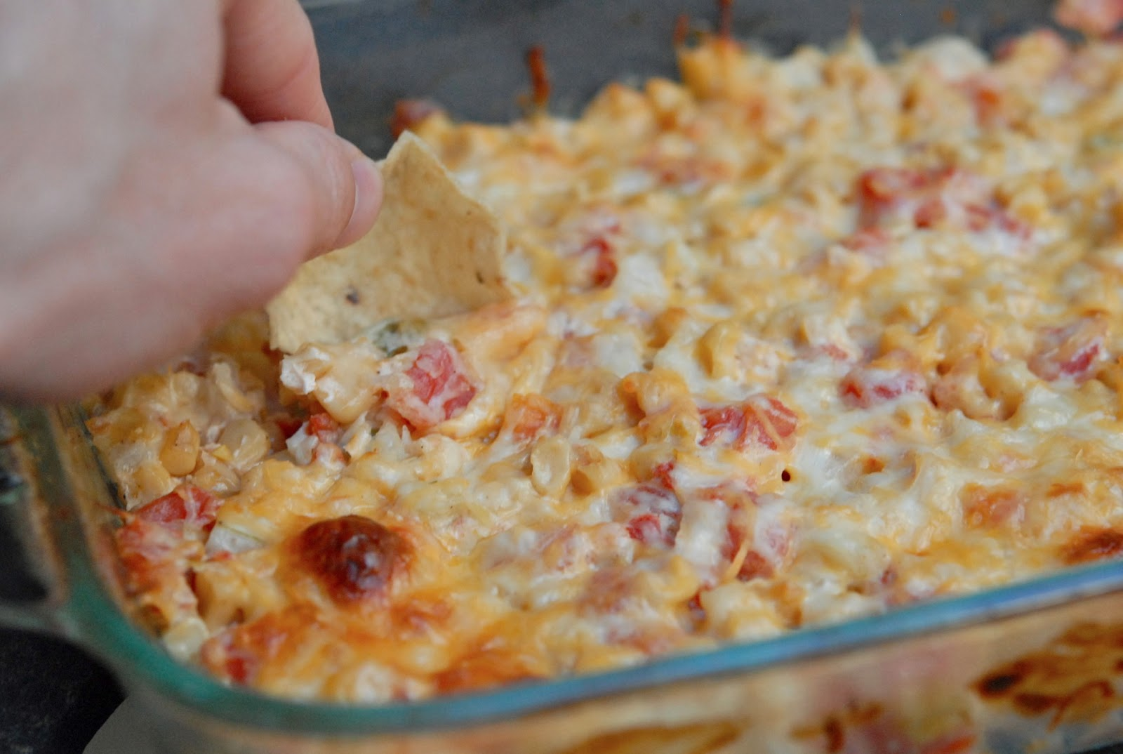 The Savvy Spoon: Spicy Hot Corn Dip
