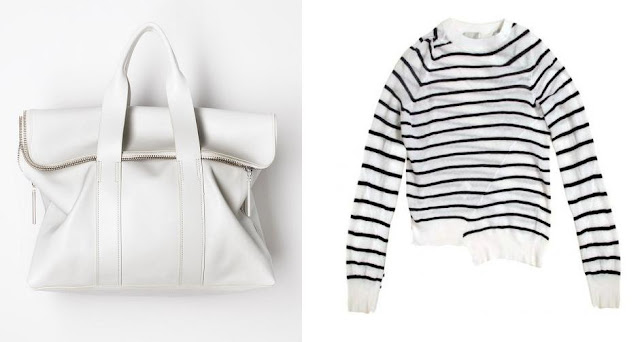 3.1 Philip Lim 31 Hour Bag ,  A.L.C Ainsley Sweater
