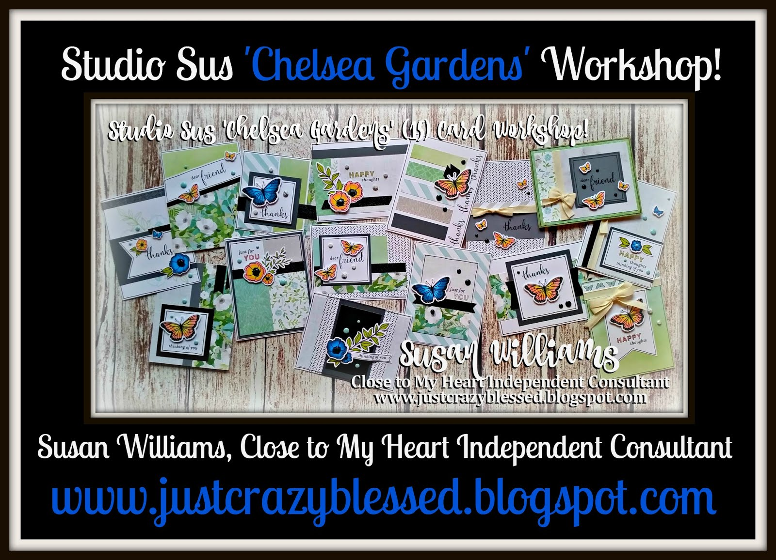 'Chelsea Gardens' Cardmaking Workshop!