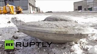 Objek Asing Diduga UFO Ditemukan di Rusia