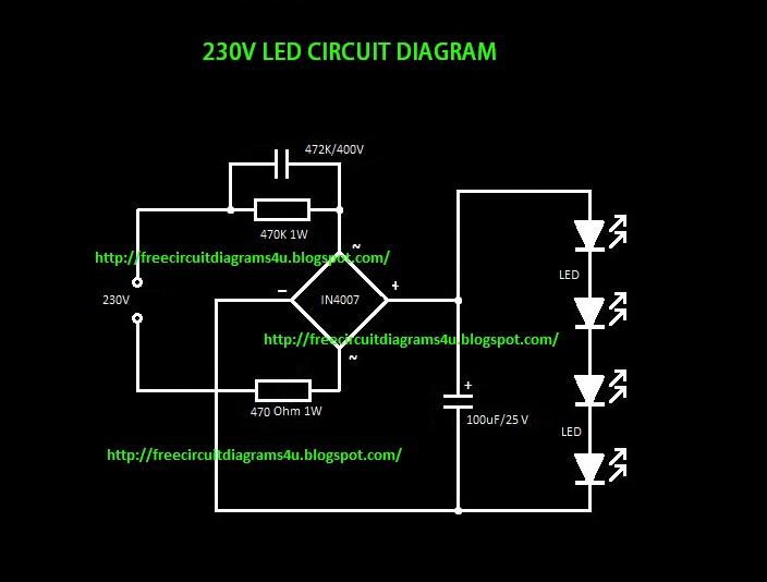 Ldr Circuit Diagram 230v