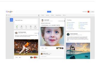 Le nouveau Google+ 2013