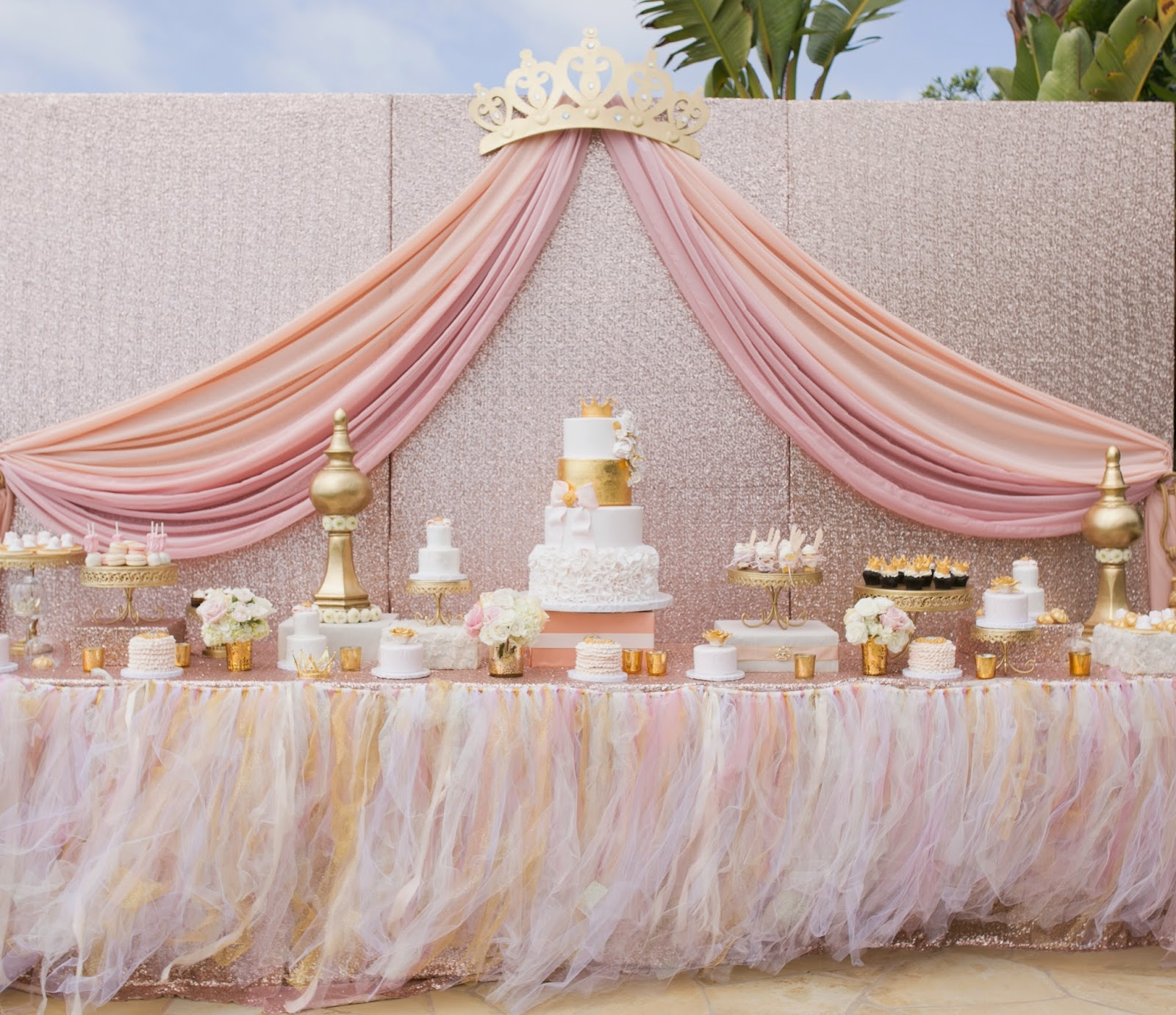 alfa img showing princess ballerina theme baby shower