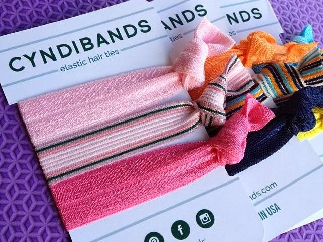 CyndiBands hair ties