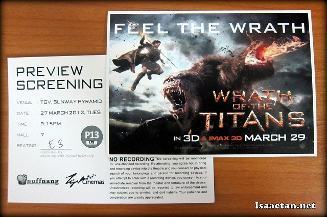Wrath Of The Titans Review (2012)