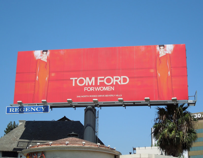 Tom Ford Women 2012 Collection billboard