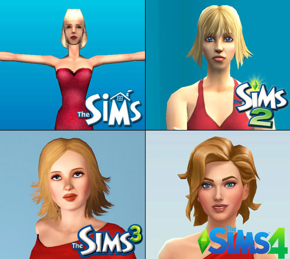 Changes in The Sims Styles