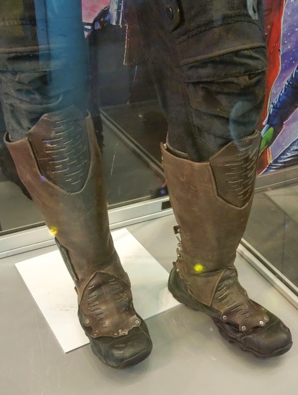 Star-Lord costume boots Guardians of the Galaxy movie