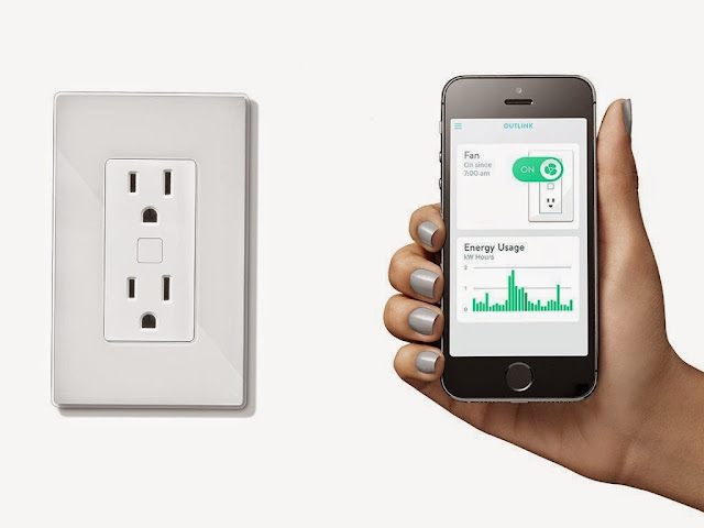 Smart Sockets and Switches - Outlink Smart Remote Outlet