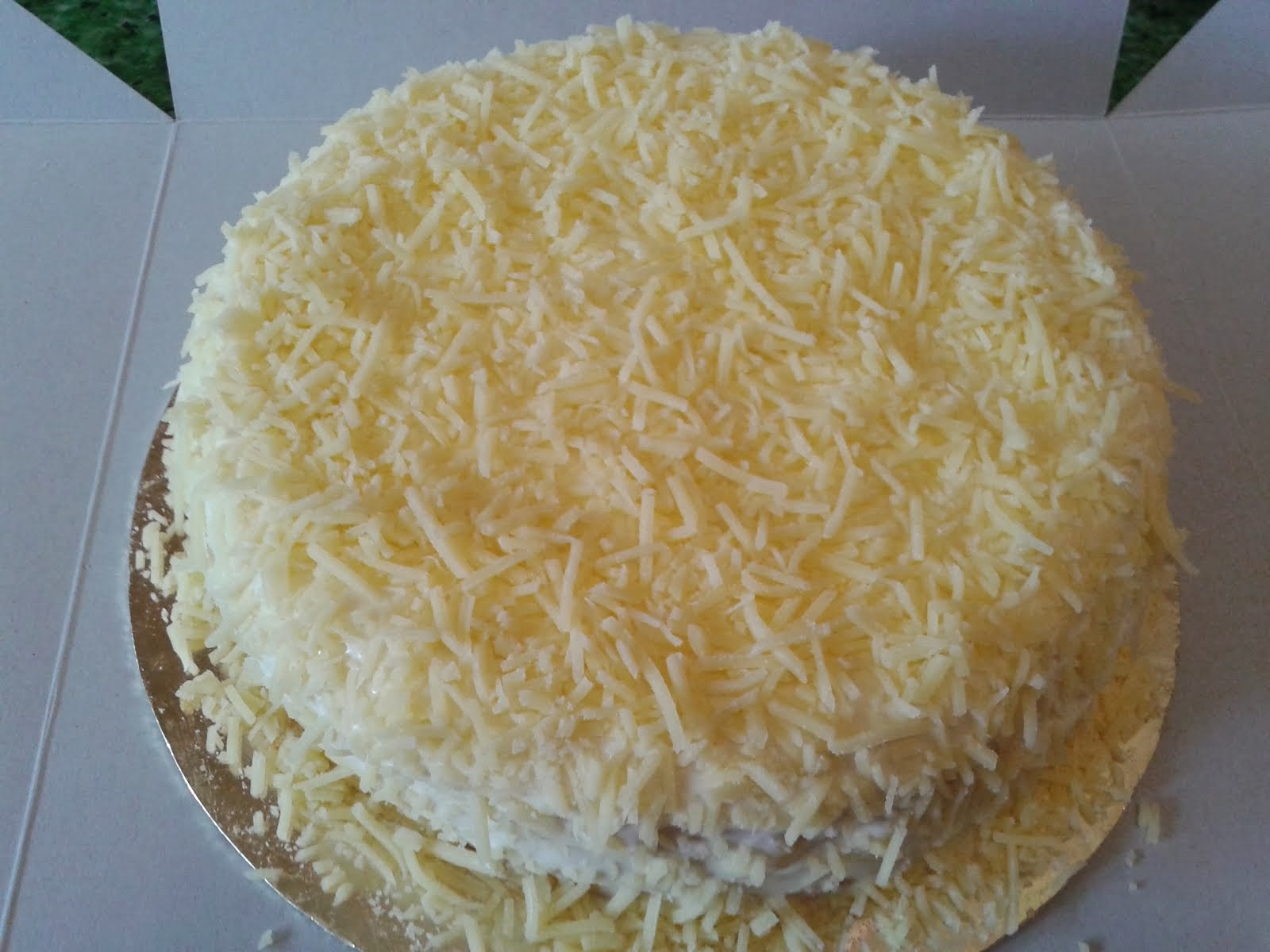 Snowy Cheese Cake