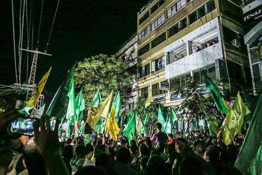 Gencatan Senjata Palestin Meraikan Kemenangan