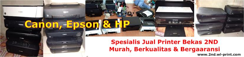 Toko Spesialis Jual Printer Bekas 2nd Jogja Yogyakarta