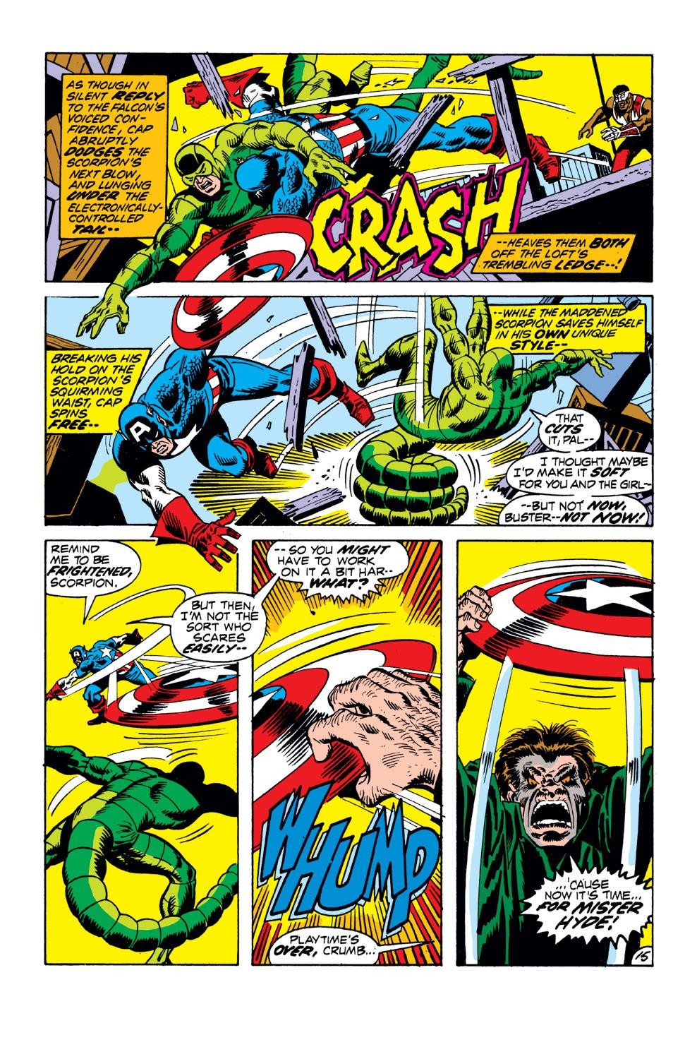 Captain America (1968) Issue #152 #66 - English 16
