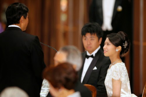 the wedding banquet for Mr Kunimaro Senge and Ms Noriko Senge was took place at Hotel New Otani in Tokyo