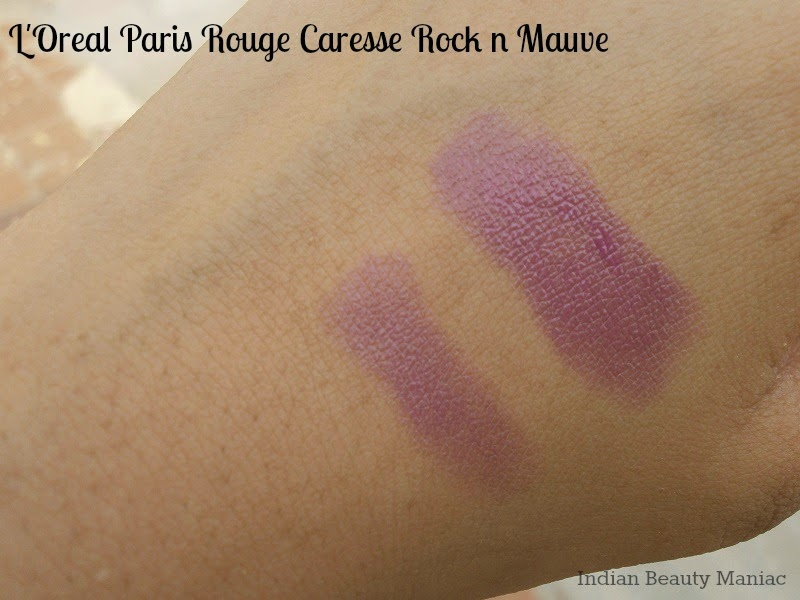 L'Oréal Paris Rouge Caresse Lipstick in Rock 'n Mauve