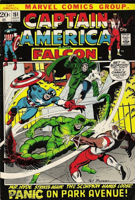 Captain America and the Falcon #151, Mr Hyde and the Scorpion