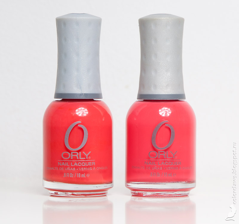 Orly Precisely Poppy, Orly Terracotta