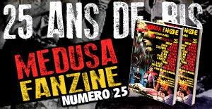 MEDUSA FANZINE 25 !