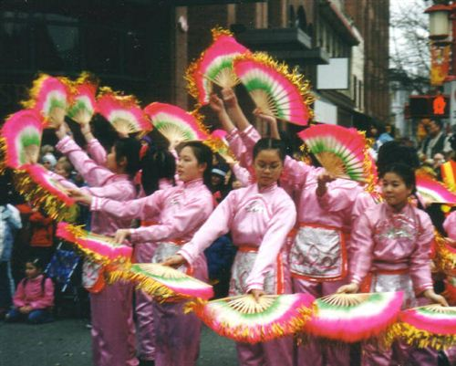 Famous Chinese New Year Street Festival In San Francisco
