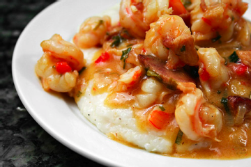 grits shrimp grits recipe barbecue shrimp with creamy lemon garlic ...